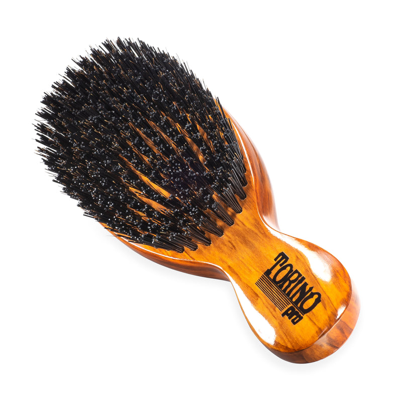 Torino Pro Wave Brush #1100 - Stub Hard  - Oval Stub Wave Brush for 360 Waves