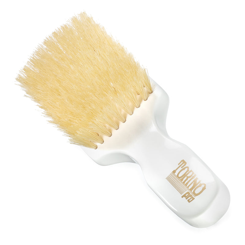 #1430 Club Brush, Soft  (NEW) Torino Pro - Travel Size Wave Brush w/ Extra Long Bristles for 360 Waves