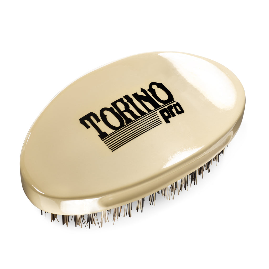 #1510 Curved Palm, Hard  (NEW) Torino Pro - Military Wave Brush for 360 Waves (Curve Brush)