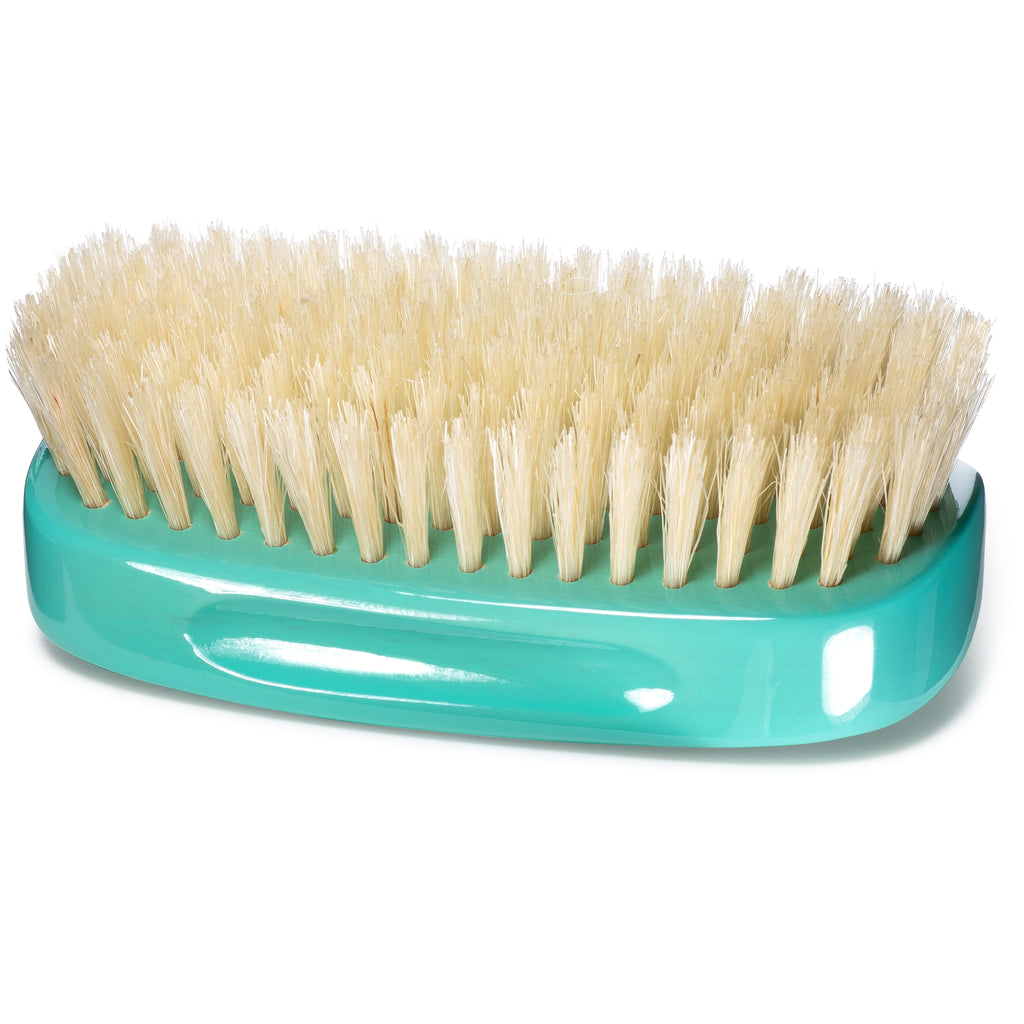 #1870 Torino Pro Soft 7 Row Palm Wave Brush By Brush King -Soft Palm great for laying down your waves without disturbing your pattern - Great for Connections and polishing - For 360 Waves