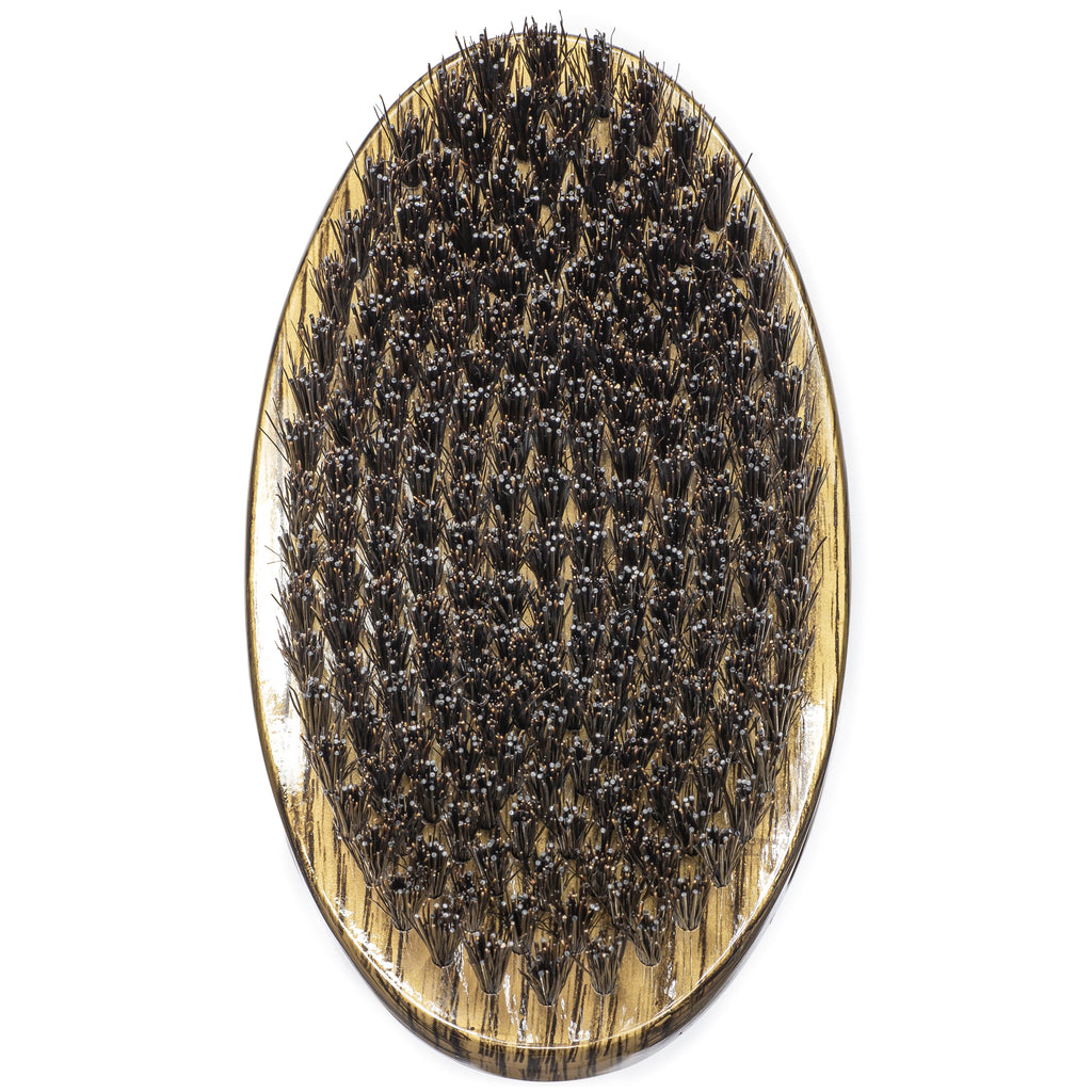 #1780 Torino Pro Medium Hard Palm Curve Wave Brush By Brush King  - 360 Curved Medium Hard Palm - Great for Wolfing - For 360 Waves