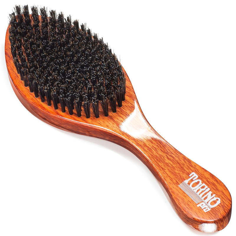 #1680 Torino Pro Medium Hard Curve Wave Brush By Brush King -  360 Curved Medium Hard - Great for Wolfing - For 360 Waves