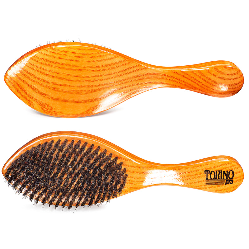 #1670 Torino Pro Medium Hard Curve Wave Brush By Brush King  - 360 Curved Medium Hard - Great for Wolfing - For 360 Waves