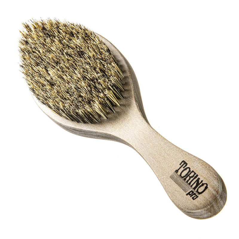Torino Pro Wave brush #101- 100% Pure Boar Medium Bristles
