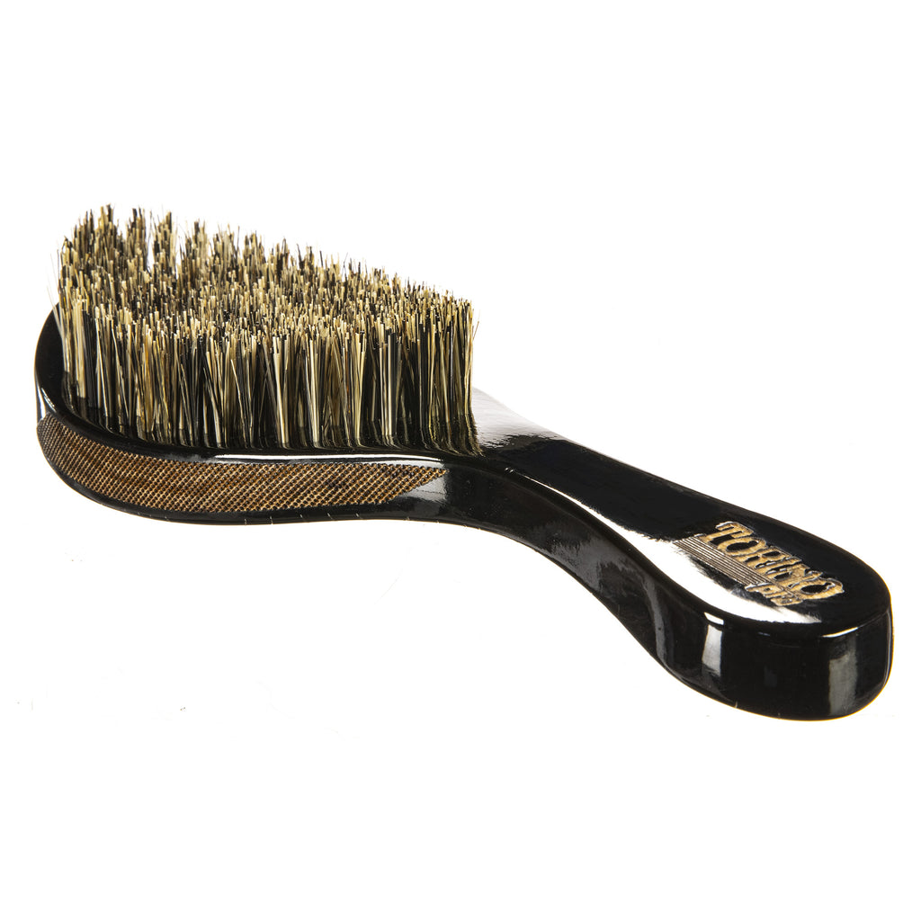 Torino Pro Wave Brush #103-  360 Waves Curved Medium Hard