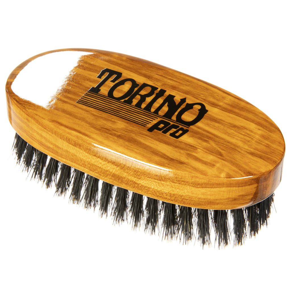 #1060 Oval Palm, Medium Soft (NEW) Torino Pro - Military Wave Brush for 360 Waves