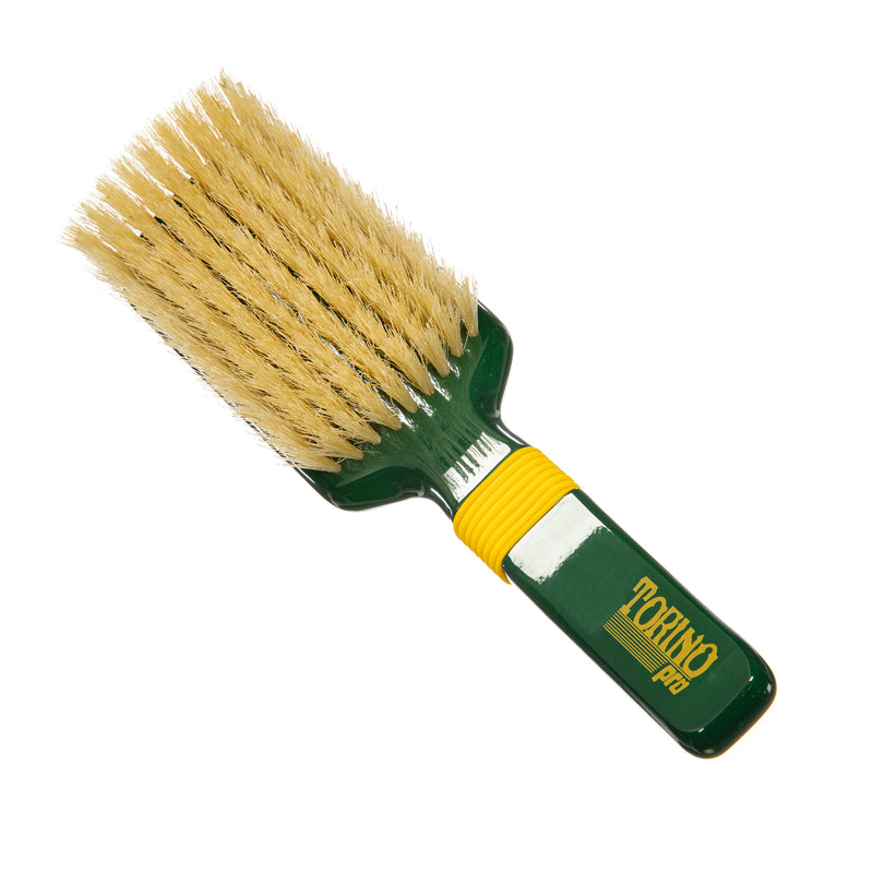 Torino Pro Wave Brush #109 - Medium Rubber Grip 9 Rows - 100% Extra long Boar Bristles