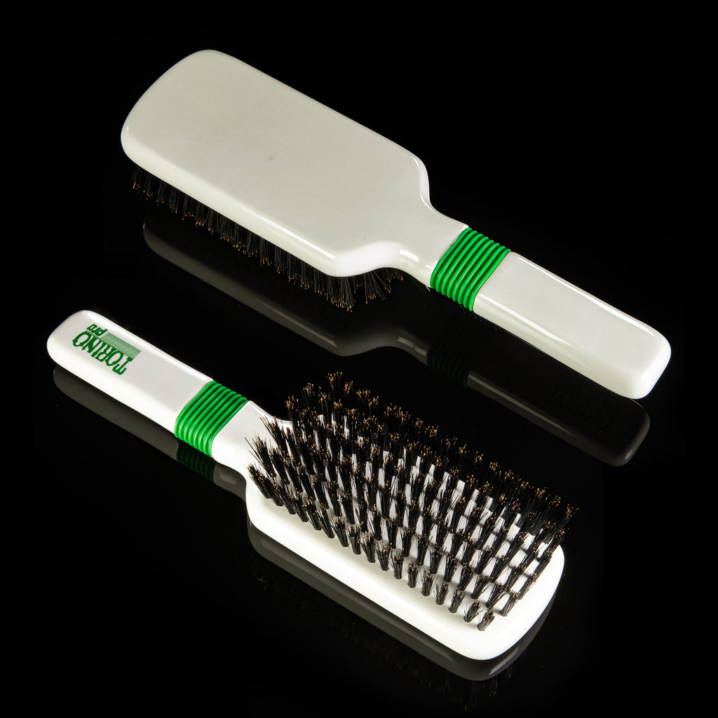 Torino Pro Wave Brush #116  Rubber Grip 6 Rows Medium