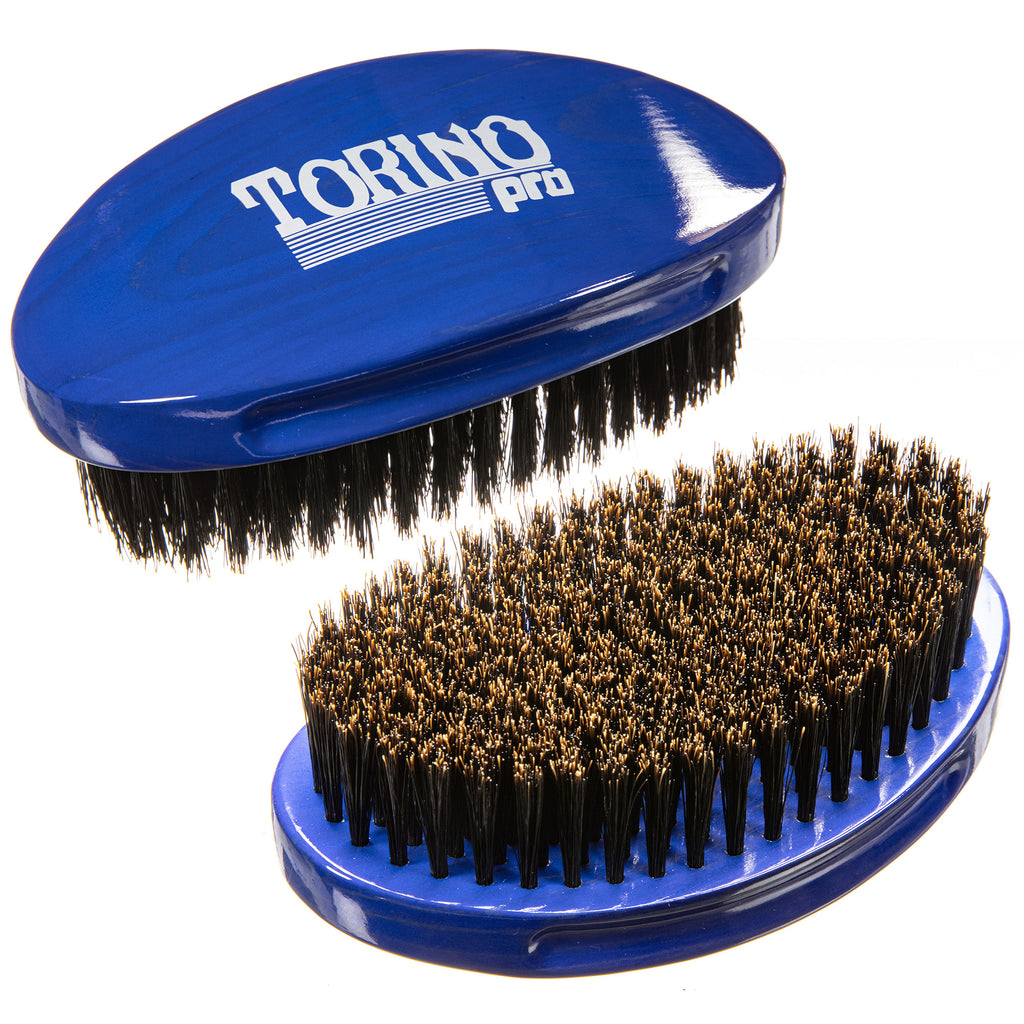 Torino Pro Wave Brush #119 Curve Palm Soft Extra Long Bristles