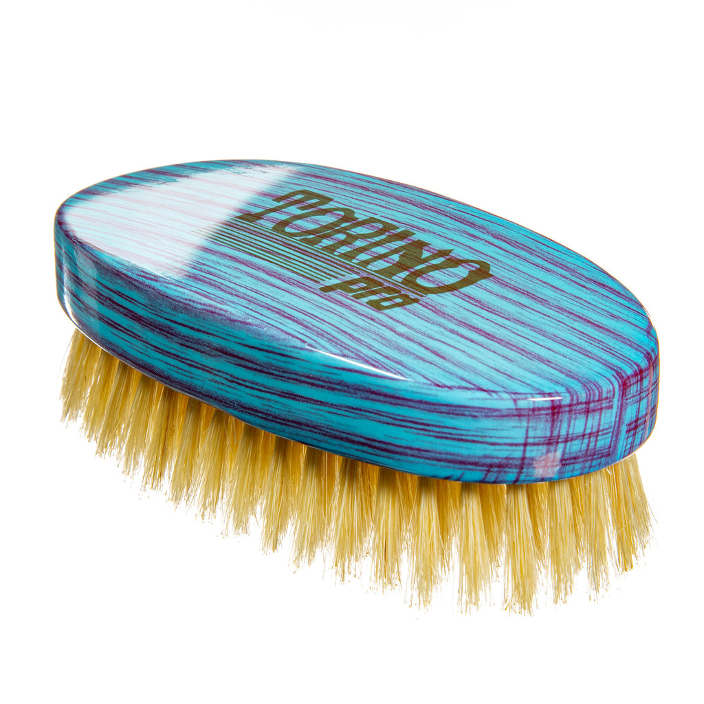 Torino Pro Wave brush #121- Oval Palm - 100% Pure Boar Soft Bristles