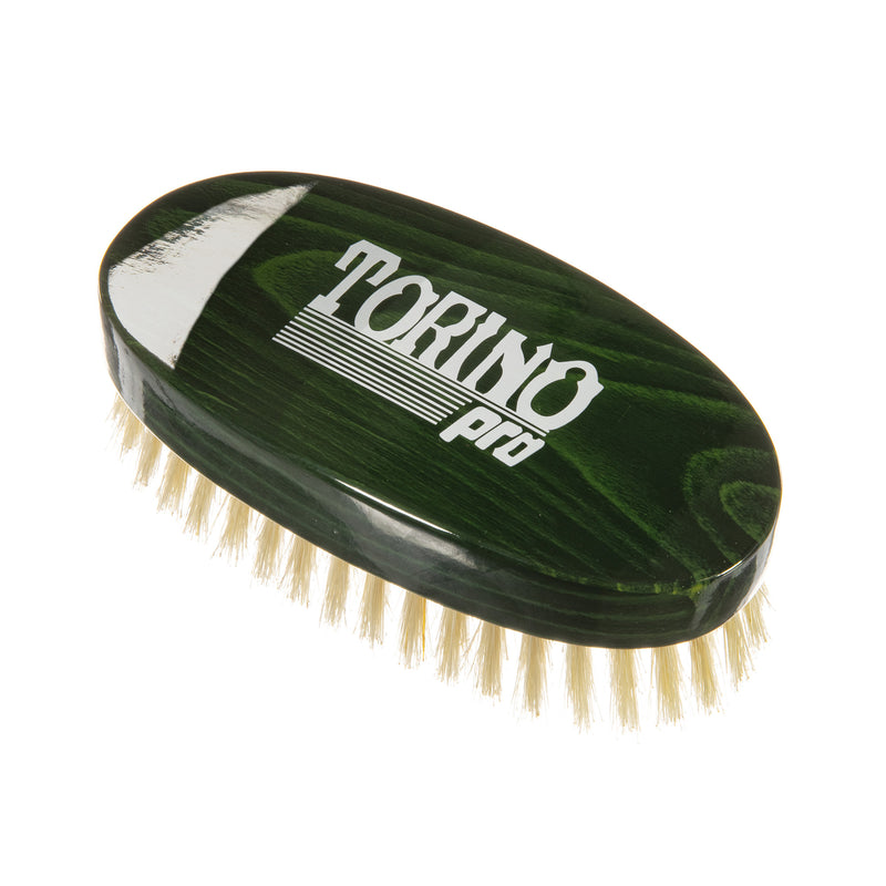 Torino Pro Wave Brush #122-Oval Palm Medium- 100% Boar Bristles