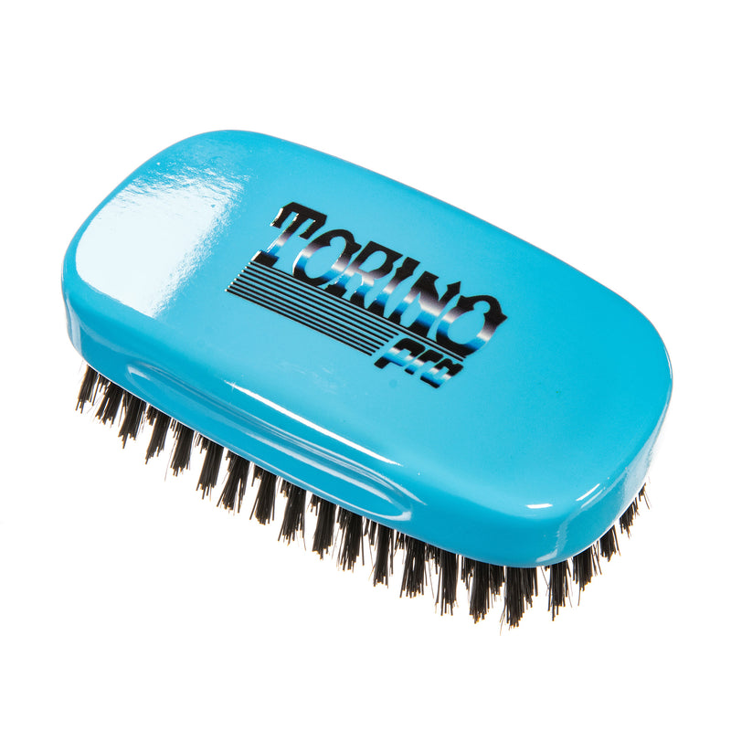 Torino Pro Wave Brush #130- 7 row Square Palm Brush - Hard Reinforced Bristles
