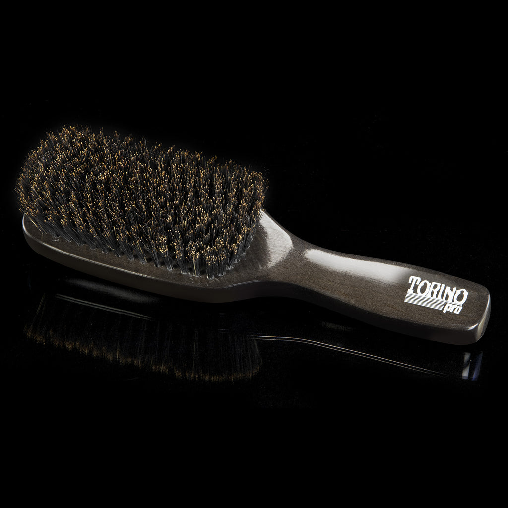 #1370 11 Row, Soft  (NEW) Torino Pro - Long Handle Wave Brush for 360 Waves