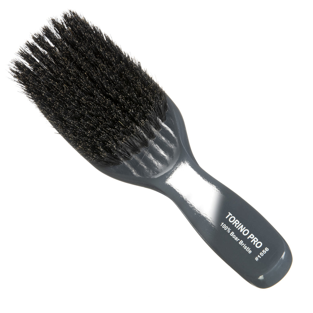 Torino Pro Wave Brush  #1556 - Soft Bristles Long Handle Wave Brush for 360 Waves