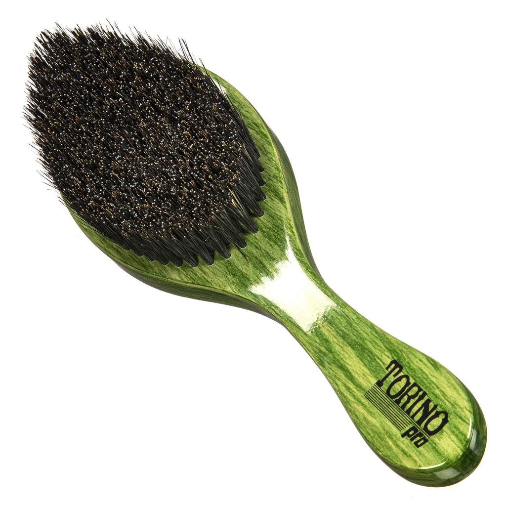 Torino Pro Wave Brush #1620 -Medium Hard Curve Brush - Great for wolfing and Connections - Curved brush for 360 Waves
