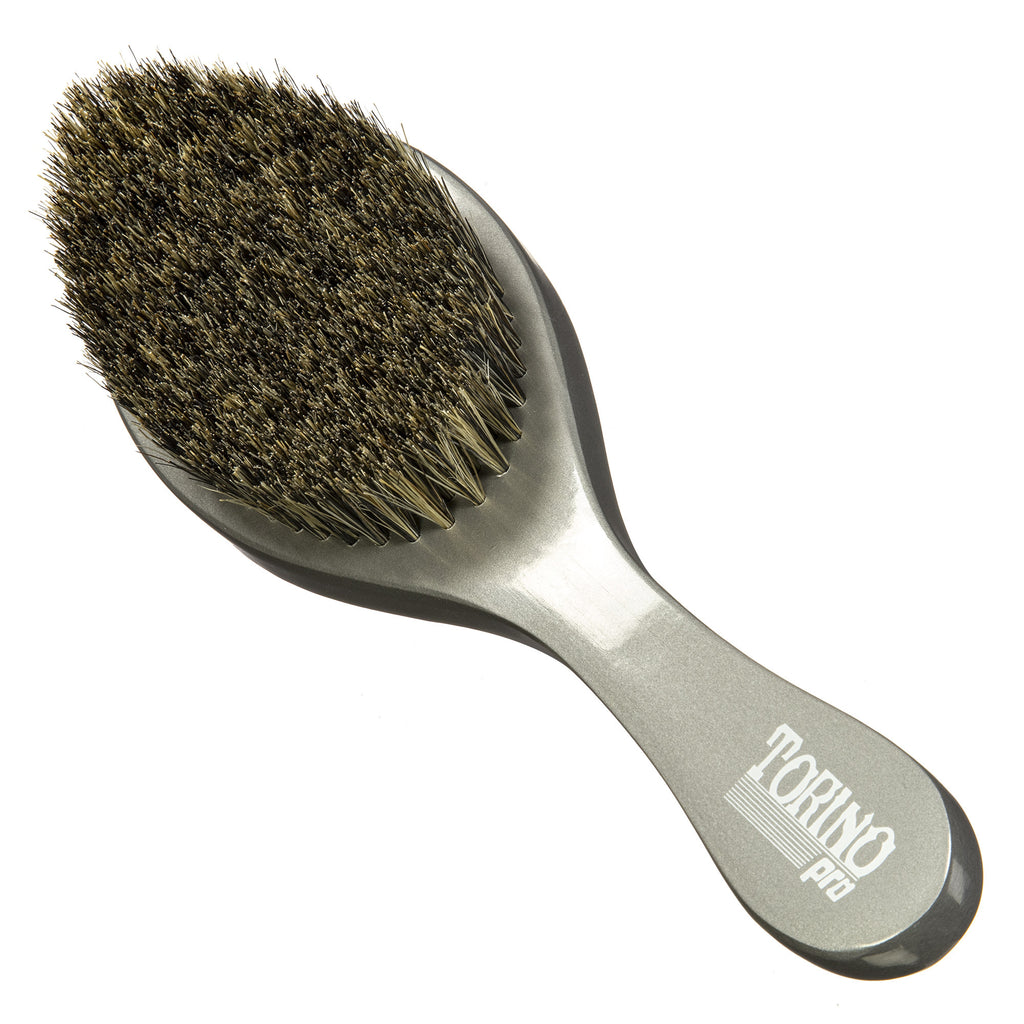 #1660  Torino Pro Premium Soft Curve Brush By Brush king - 360 Curved Wave brush for 360 Waves- Great for Polishing your waves and Connections