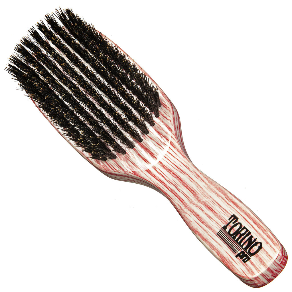 #2010 Torino Pro Medium Brush By Brush King -  9 row Medium Bristles - Great for wolfing and Connections - brush for 360 Waves - Great for vertical brushing