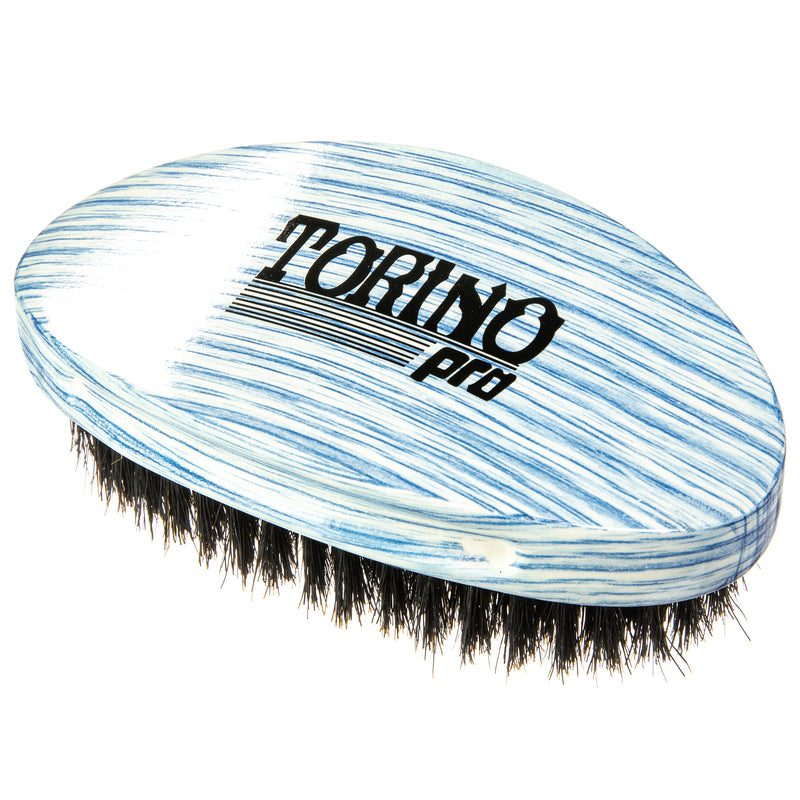 Torino Pro Wave Brushes By Brush King #21- Soft Curve Palm Brush - Great for laying and polishing your 360 waves