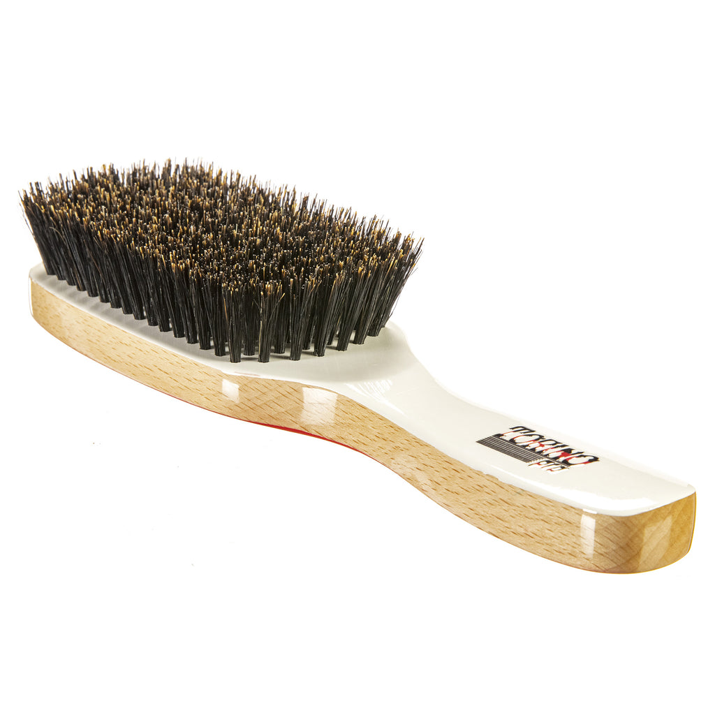 Torino Pro Wave Brush #220- 8 Rows Fatality Edition - Medium - Extra Long Bristles