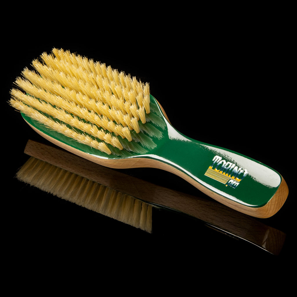 Torino Pro Wave Brush #250- 7 Rows Medium - Fatality Edition - 100% Pure Boar Bristles