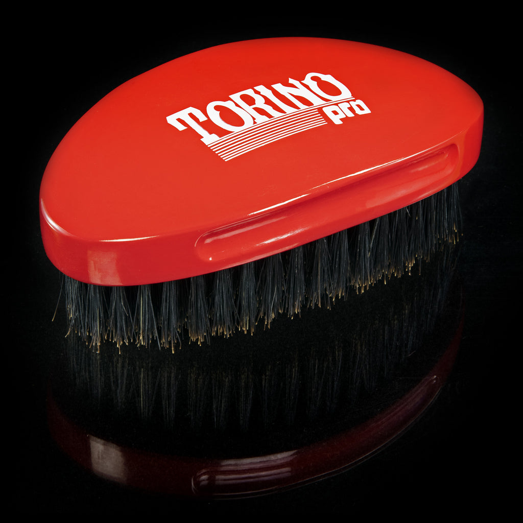 #690 Curved Palm, Medium  Torino Pro - Military Wave Brush for 360 Waves (Curve Brush)