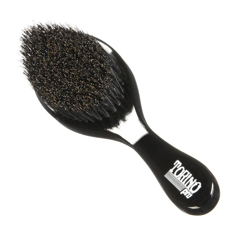 Torino Pro Wave Brush #450 - Medium Hard Curved Long Handle - Wave Brush for 360 Waves (Curve Brush)