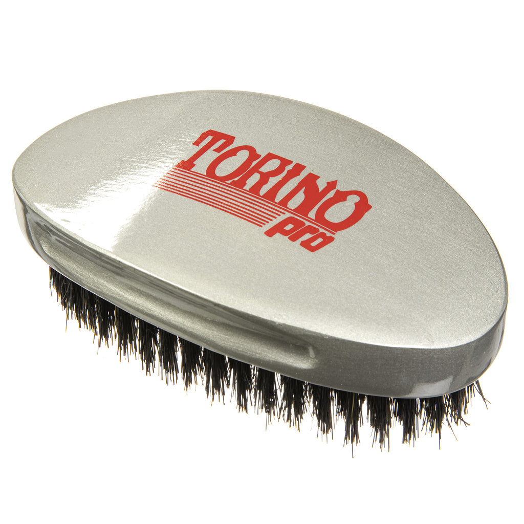 #530 Curved Palm, Medium Torino Pro Classic - Military Wave Brush for 360 Waves (Curve Brush)
