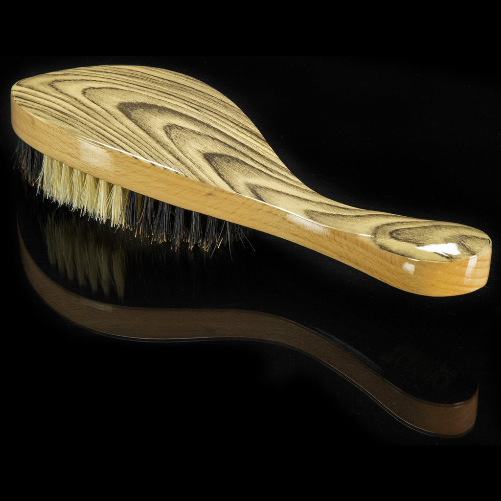 Torino Pro Wave Brushes by Brush king #55- Hybrid brush with Medium and Soft Bristles