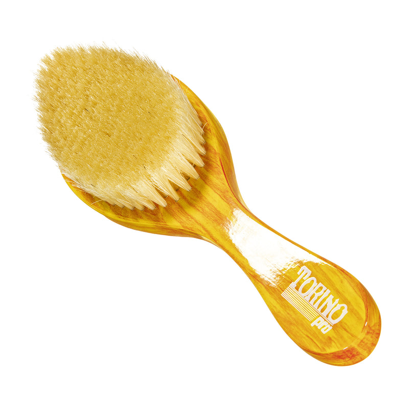 Torino Pro Wave Brushes by Brush king #62- Soft Bristles- 360 Curve Waves brush