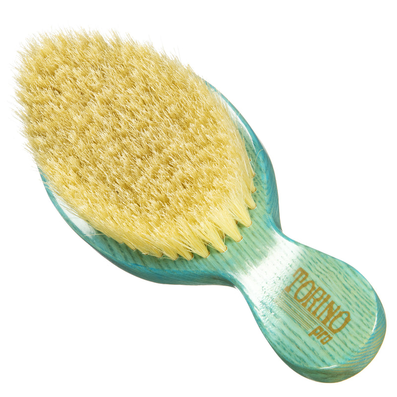 Torino Pro Wave Brushes by Brush king #63- Soft Curved Stubby Club