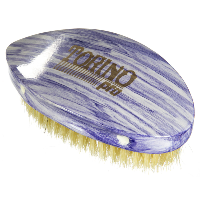 Torino Pro Wave Brushes by Brush king #67- Soft Pointy Curved Palm 360 Waves Brush