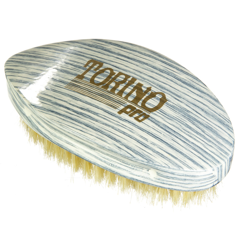 Torino Pro Wave Brushes by Brush king #69- Medium Pointy Curve Palm 360 Waves Brush