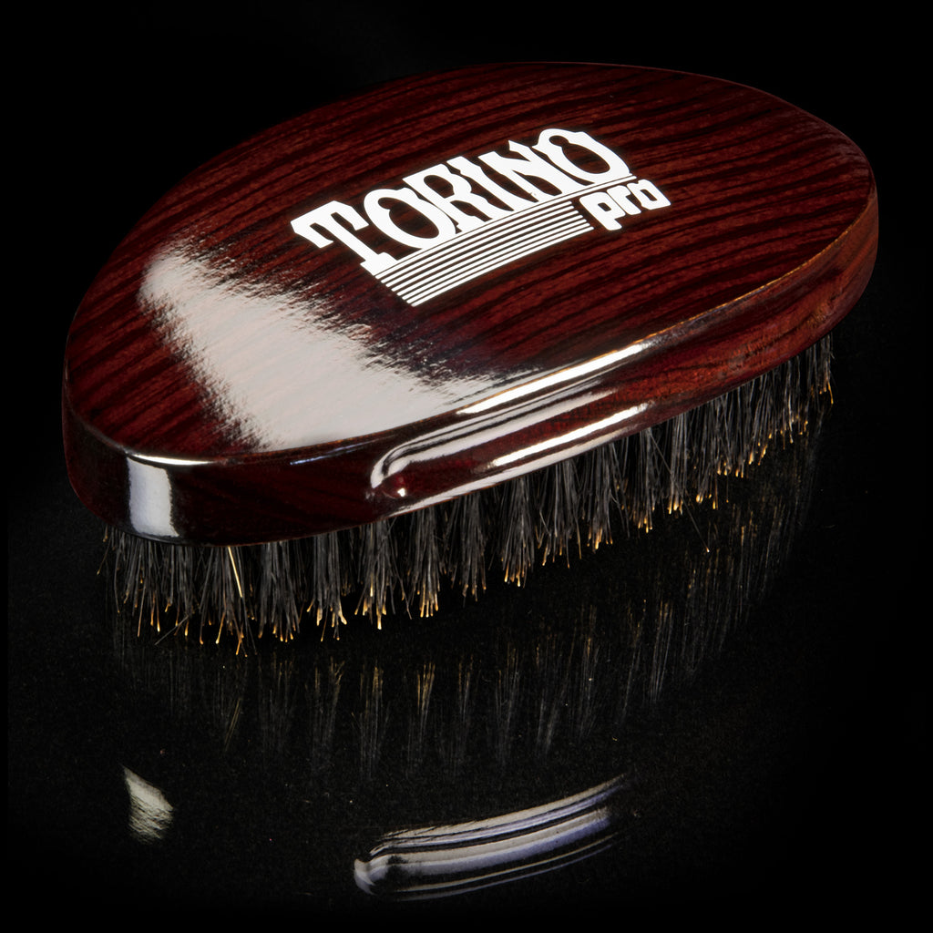#730 Curved Palm, Medium  Torino Pro - Military Wave Brush for 360 Waves (Curve Brush)