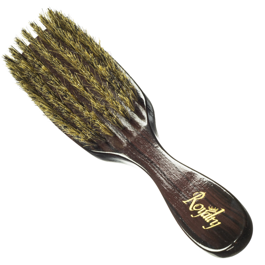 Royalty By Brush King Wave Brush #732-7 Row Medium Wave Brush- (OG 8119 KILLER)