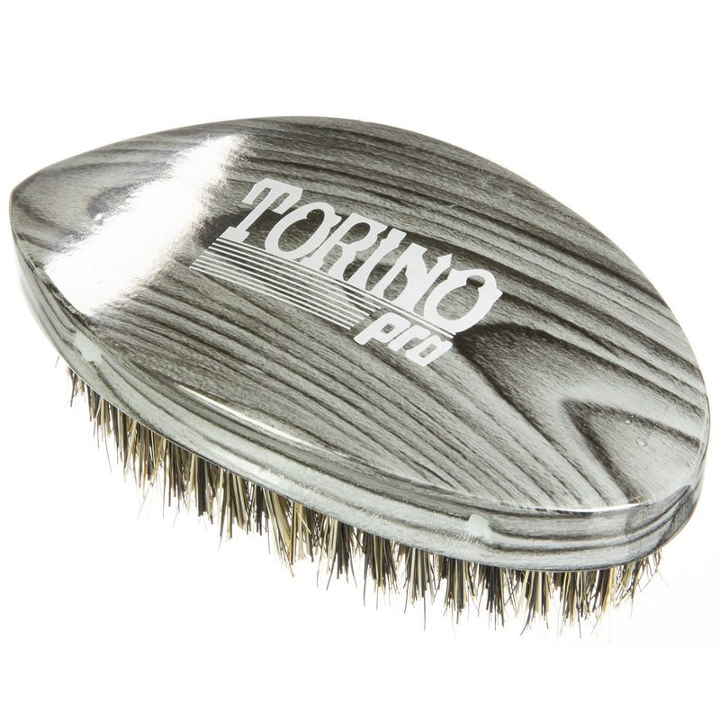 Torino Pro Wave Brushes by Brush king #74- Medium Hard Pointy Curved 360 Waves brush