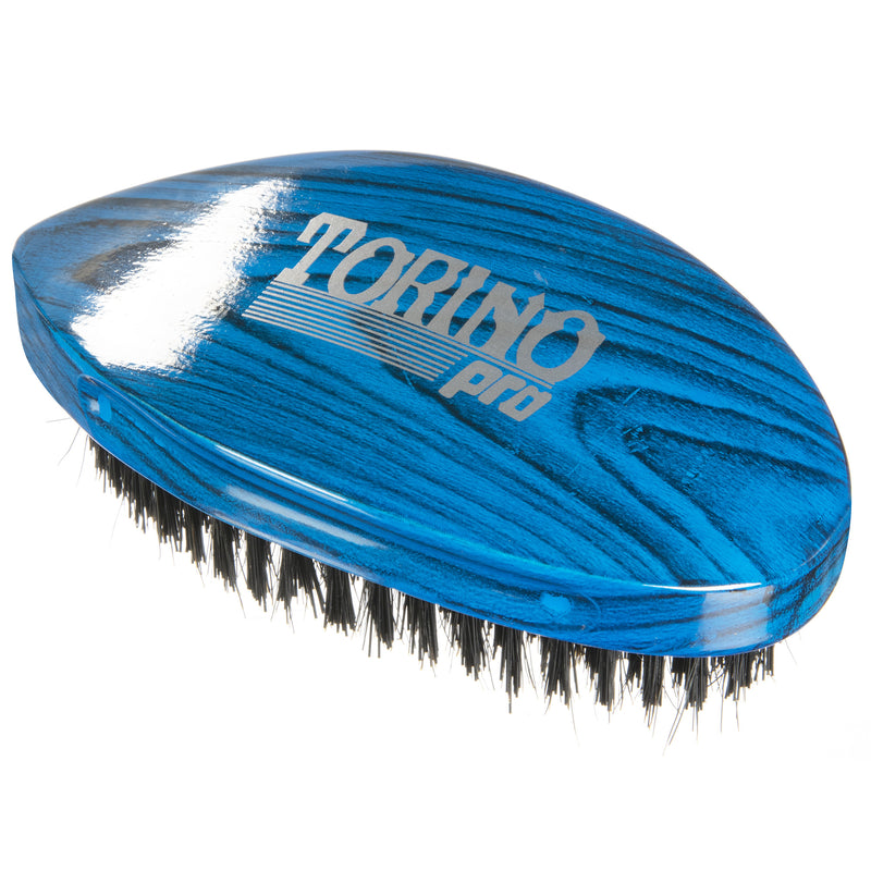 Torino Pro Wave Brushes by Brush king #75- Hard Pointy Curved 360 Waves brush