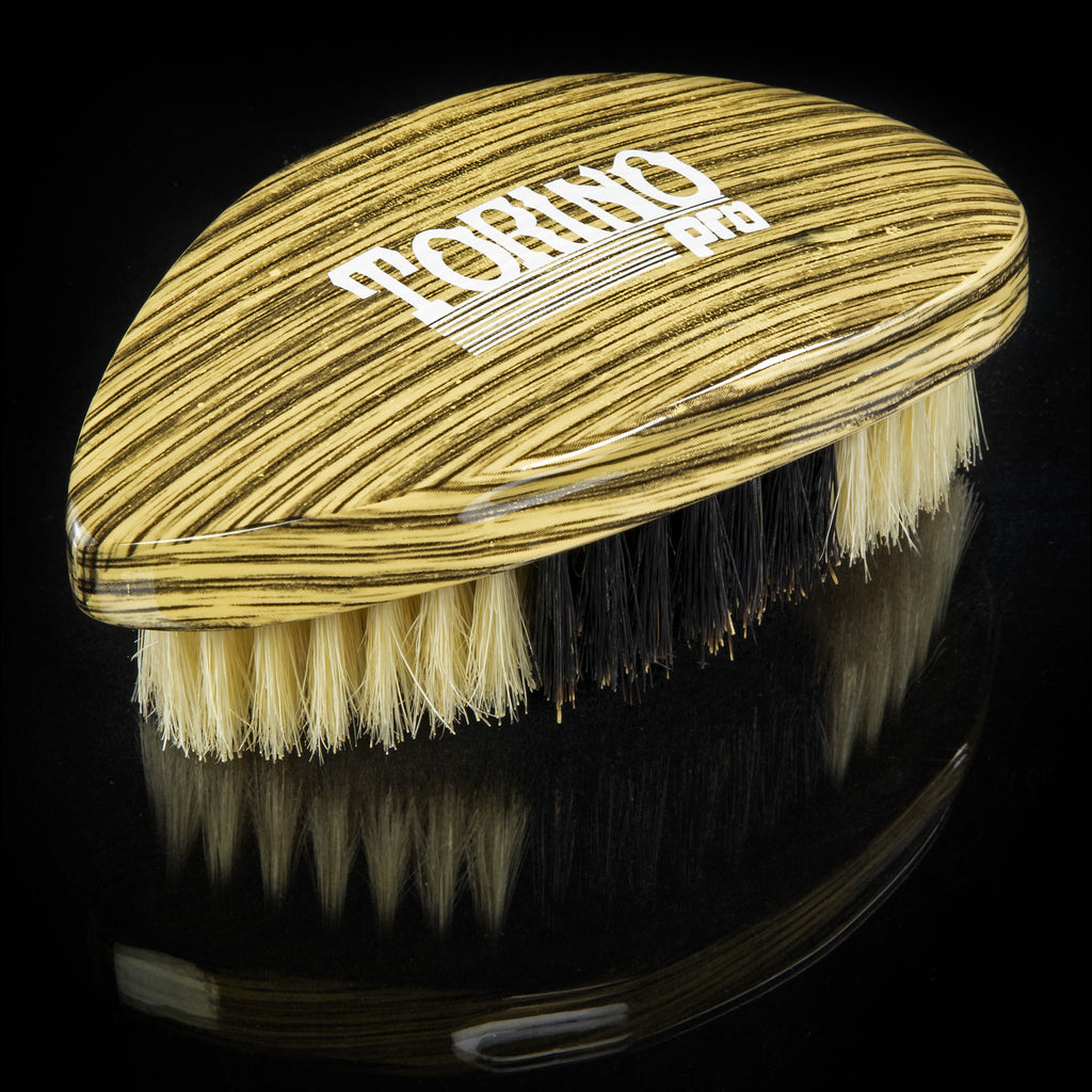 Torino Pro Wave Brushes by Brush king #76- Hybrid Medium Soft Pointy Curved Brush