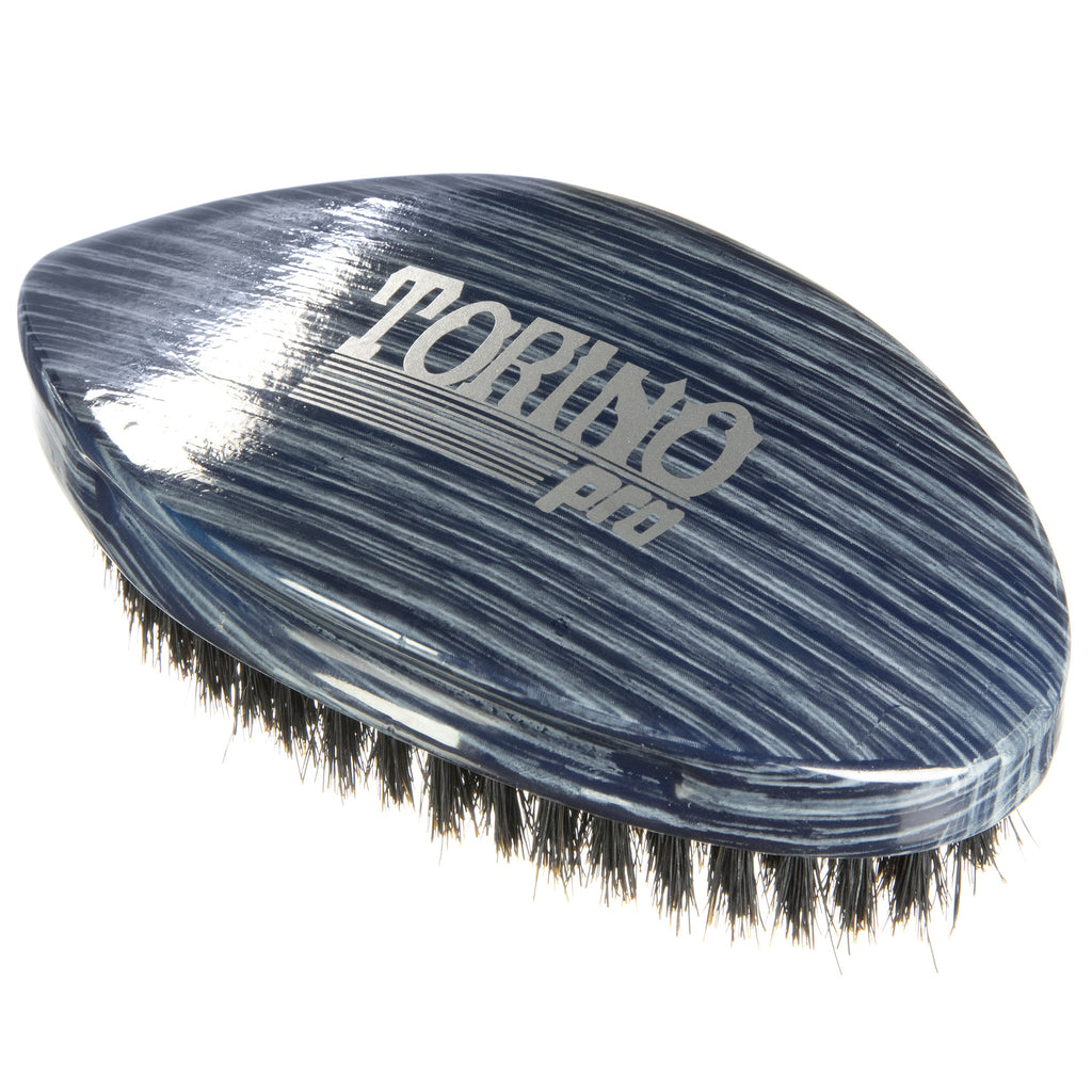 Torino Pro Wave Brushes by Brush king #77- Soft Pointy Curved 360 Waves brush
