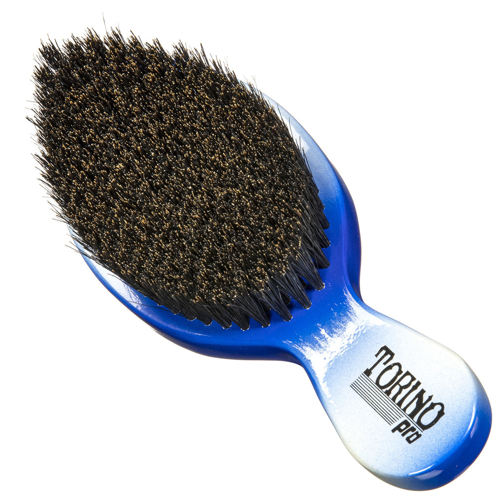Torino Pro Wave Brushes by Brush king #80- Medium Soft Stubby Curved Club Brush
