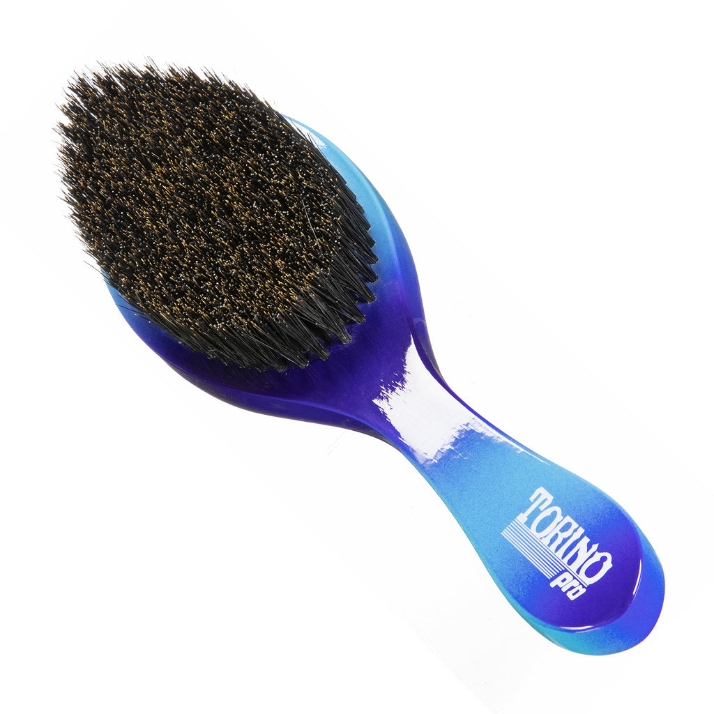 Torino Pro Wave Brushes By Brush King #88- Medium Hard Curve Wave brush- Great 360 waves brush for wolfing