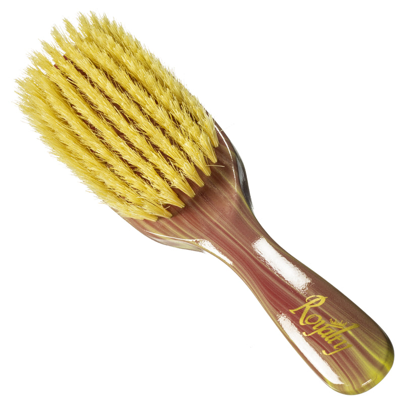 Royalty By Brush King Wave Brush #911 9 row Soft brush- Great 360 waves brush for laying and polishing