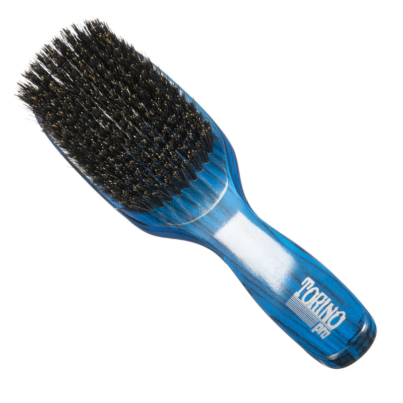 Torino Pro Wave brushes by Brush king- #98- 11 row Medium Wave brush - Firm Medium
