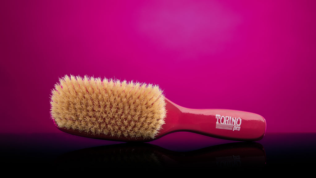 Torino pro soft wave brush for 360 waves