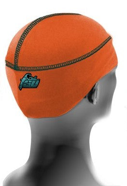 Orange Tsurag 1 stringless durag for 360 waves