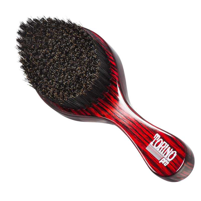 Torino Pro #570 - Curved, Medium Hard Wave Brush for 360 Waves (Curve Brush)