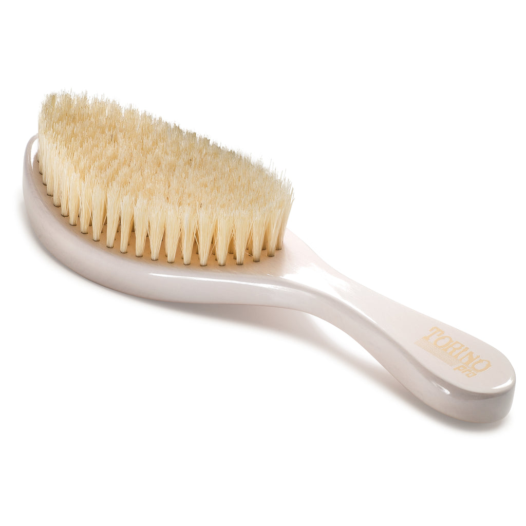 Torino Pro #640 - Curved, Soft Wave Brush for 360 Waves (Curve Brush)