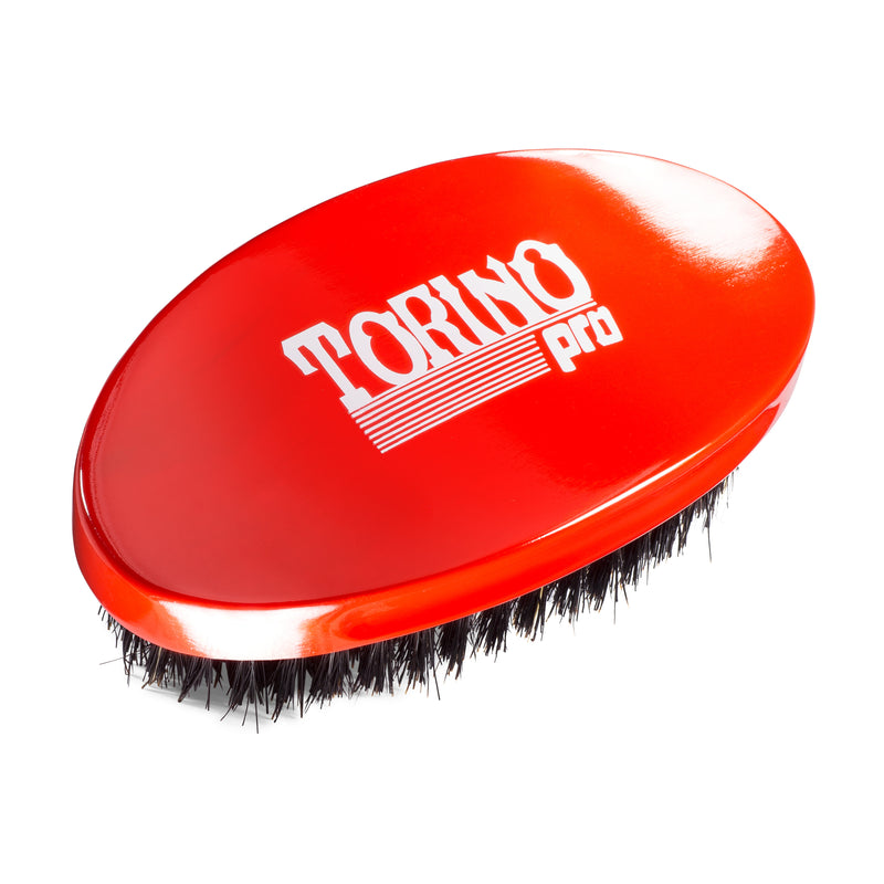 Torino Pro #690 - Curved Palm, Medium Wave Brush for 360 Waves (Curve Brush)