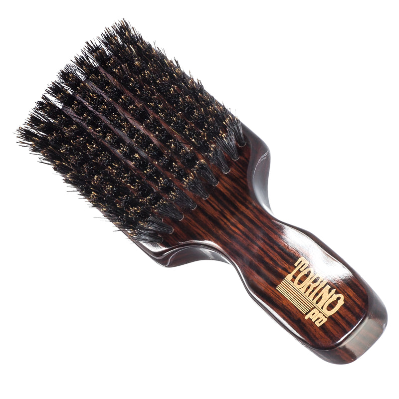 #840 Club Brush, Medium  Torino Pro - Travel Size Wave Brush for 360 Waves, Great for ALL HAIR TYPES