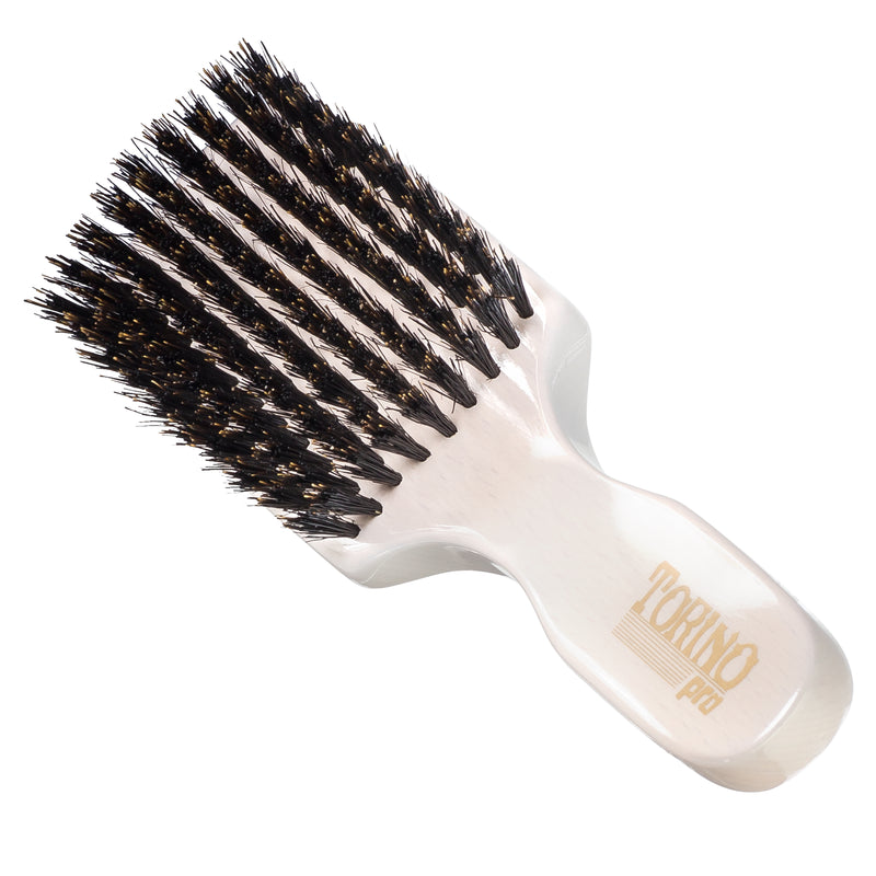 #850 Club Brush, Medium  Torino Pro - Travel Size Wave Brush for 360 Waves, Great for ALL HAIR TYPES