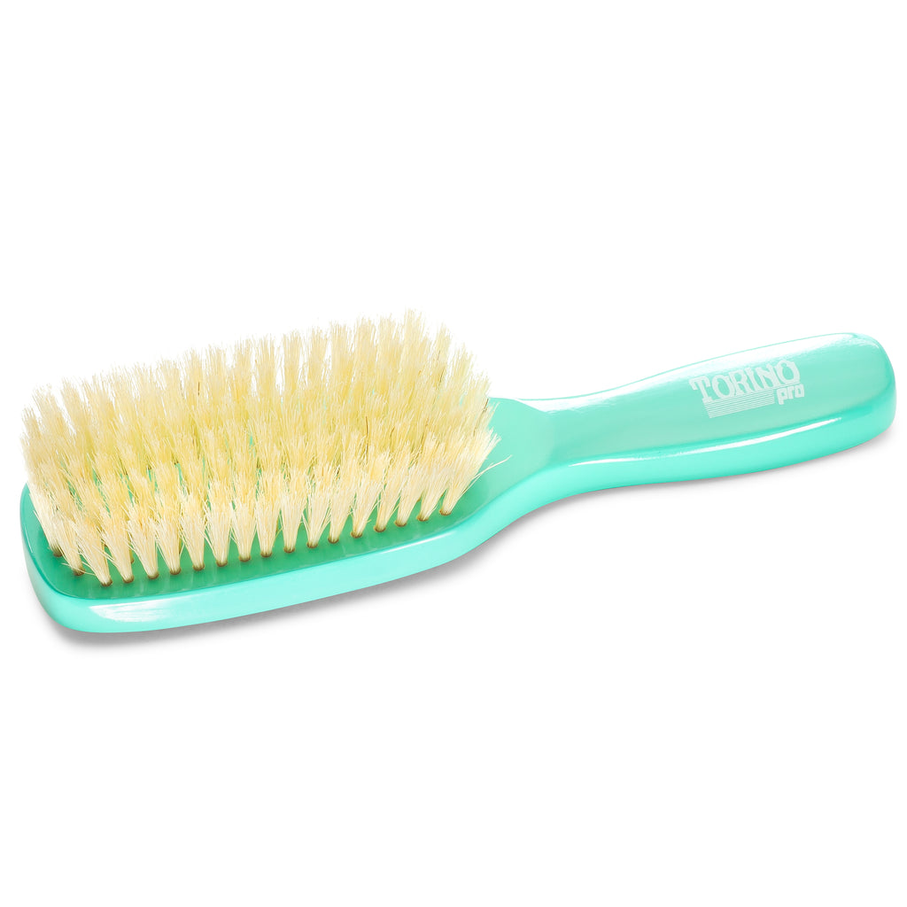 7 Row, Extra Soft #920 Torino Pro - Long Handle Wave Brush for 360 Waves